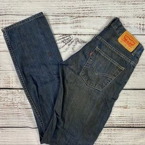 LEVI'S Boy's Slim Straight Jeans 14 Reg 27X27